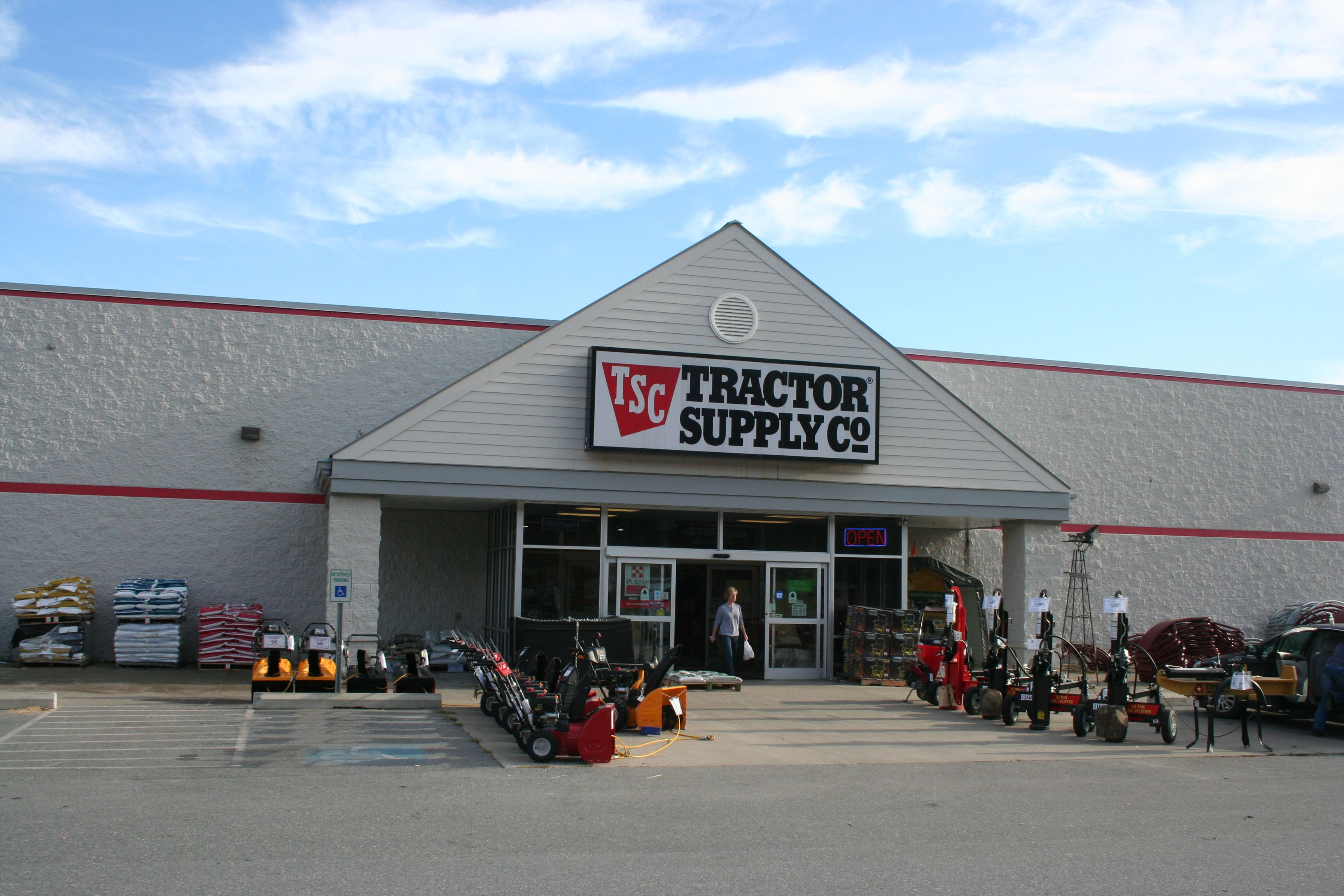 Tsc Tractor Supply : Tractor supply plainfield flower farm